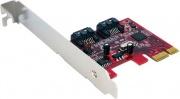 StarTech PEXSAT32 Scheda Controller PCI Express SATA con 2 Porte SATA 6 Gbps