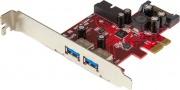 StarTech PEXUSB3S2EI Espansione PCI Express USB a 4 porte 2 interne 2 esterne
