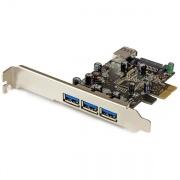 StarTech PEXUSB3S42 Scheda PCI Express USB3.0 SuperSpeed a 4 Porte