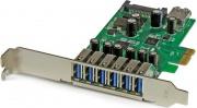 StarTech PEXUSB3S7 Scheda Espansione PCI Express USB 3.0 a 7 porte con profilo