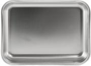 Steel Pan STE10182 Teglia Rettangolare Inox 1810 cm 35 Antigraffio