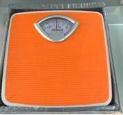 Stube 144ARANCIO Bilancia pesapersone meccanica analogica Portata 130 Kg Arancione 144 Susy