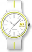 Superga STC061 Orologio Donna Quadrante Analogico Cinturino Silicone Bianco
