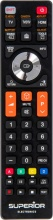 Superior SUP044 Telecomando TV Samsung Universale colore Nero