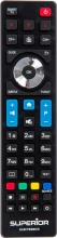 Superior SUP047 Telecomando Universale TV Philips colore Nero