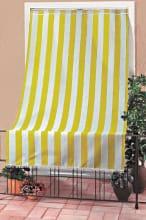 Swish Tenda da sole finestra balcone Tessuto CotonePoliestere 140x300cm Giallo