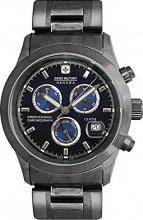 Swiss Military Orologio Uomo Cronografo Cassa e Cinturino in Acciaio 06511530003