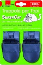 Swissinno 1004018 Trappole per Topi con Esca Super Cat Pezzi 2 Blister  8