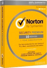 Symantec 21355422 Software Antivirus Norton Internet Security 2016 10 Utenti 1 Anno