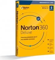 Symantec 21397535 Software Antivirus 5 Users 1 Anno WinMacMobile Norton 360 Deluxe 2020