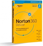 Symantec 21397693 Software Antivirus 3 Users 1 Anno WinMacMobile Norton 360 Deluxe 2020