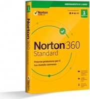 Symantec 21397790 Software Antivirus 1 User 1Anno WinMacMobile Norton 360 Standard 2020