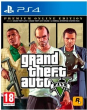 TAKE TWO SWP40674 Videogioco PS4 GTA 5 Premium Online Edition 18+