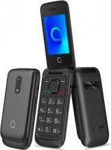 "Alcatel OT20-53D Telefono cellulare Flip Dual Sim 2.4"" Radio FM Bluetooth Nero"