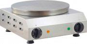 TEKNOLINE CRP35E Macchina Professionale Crepes Crepiera Elettrica piastra ghisa