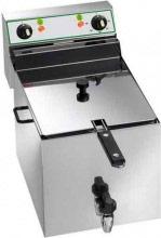TEKNOLINE Friggitrice Elettrica Professionale 10Lt 1,25 Kg Max 0190° C FR10R