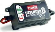 TELWIN 807553 Caricabatterie Alimentatore Auto Moto 15W 6-12V Nero  Defender 8