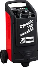 TELWIN 829381 Caricabatterie auto carrellato 12-24V Protezione Sovraccarichi Dynamic320