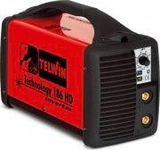 TELWIN Saldatrice Inverter elettrodo Saldatura MMA TECNOLOGY 186 HD