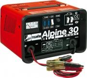 TELWIN 807547 Caricabatteria Auto Moto Monofase 12-24V 800 Watt  Alpine 30
