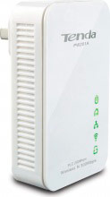TENDA PW201A Hotspot wifi Powerline Ethernet 1 porta 300 Mbps colore Bianco