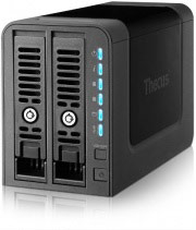 "THECUS N2350 NAS 2 Slot Hard Disk 2,5""  3,5"" Ethernet LAN USB 3.0 Ram 1 GB"