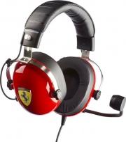 THRUSTMASTER 4060105 Cuffia Gaming Noise Canceling Microfono Scuderia Ferrari