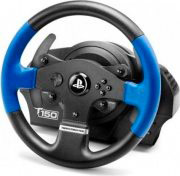 THRUSTMASTER 4160628 Volante e pedaliera per PS4 PS3 PC USB T150 Force Feedback