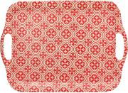 TOGNANA PORCELLANE S5934363325 Vassoio a Servire rosso Dimensione 36 cm  Ecofiber