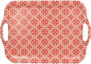 TOGNANA PORCELLANE S5934423325 Vassoio a Servire rosso Dimensione 42 cm  Linea Ecofiber
