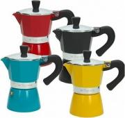 TOGNANA PORCELLANE V4430031 Caffettiera 3 Tazze Moka colore Assortiti -  Smarty