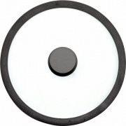 TOGNANA PORCELLANE Coperchio in Vetro e Acciaio ø 16 cm EVOLUTA V9558W10NER