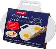 TRABO Cuoci uova doppio per Forno Microonde ECM10
