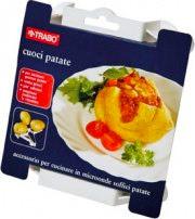 TRABO Cuoci patate per Forno Microonde ECM35