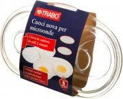 TRABO Cuoci uova doppio per Forno Microonde EMWEG0115