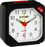 TRABO FA035 Orologio Analogico Sveglia Allarme elettronico Nero