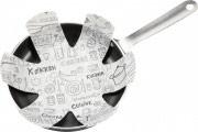 TRABO Set Salvapadella 3 pz per Padelle Antiaderenti o Ceramica SALVA PADELLA
