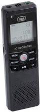 TREVI Mini registratore digitale vocale dittafono 4 GB MiniUSB DR 435 SA 0043500