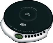 TREVI 0049800 Lettore Cd Portatile Mp3 Display LCD colore Nero  CMP 498