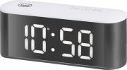 TREVI 0088301 Orologio Sveglia Digitale con Termometro Display  EC 883 BL