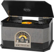 TREVI 0104000 Giradischi Bluetooth Radio FM MP3 Ingresso Aux USB  TT 1040 BT