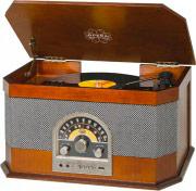 TREVI Giradischi 33, 45, 78 Giri Bluetooth Radio FM USB Aux 0104030 TT 1040 BT