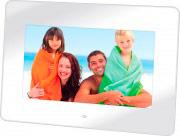 "TREVI 0221000 Cornice digitale foto 7"" photoframe USB 2.0 col. Bianco DPL 2210"