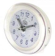 TREVI 0305201 Orologio Sveglia Analogica Funzione Snooze Bianco -  SL 3052