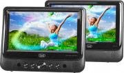 "TREVI 0700500 Lettore DVD Auto poggiatesta 2 schermi LED 9"" SD USB 12 V  TW 7005"