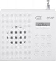 TREVI 0DA79101 Radio sveglia Digitale DAB+  DAB  FM Portatile Snooze Bianco DAB 791 R