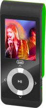 "TREVI 0M172803 Lettore Mp3 Mp4 Sport Display 1.8"" MicroSD 4 gb Verde MPV 1728 SD"