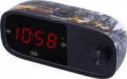 TREVI 0RC85351 Radiosveglia con Display Dimmer Radio FM Snooze Sleep RC 853 D NY Taxi