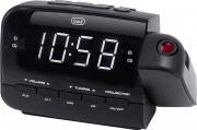 TREVI 0RC85800 Radiosveglia Digitale FM Funzione proiezione Ora Allarme RC 858 PJ