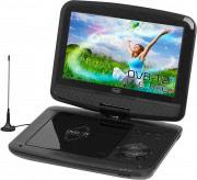 """TREVI 1418HE00 Lettore dvd portatile tv 9"""" LED DVB-T2 MP3 USB  DVBX 1418 HE"""